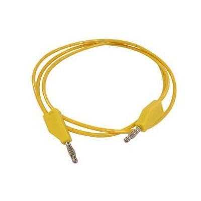 Pontas prova c/ banana 4mm amarelo
