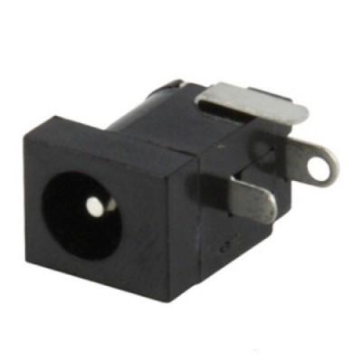 Ficha Alim. DC Macho p/ CI Soldar 2.4mm