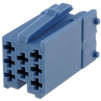 Ficha Mini-ISO 8pinos (sem terminais)