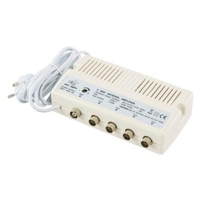 Amplificador Antena c/Ajuste 20dB