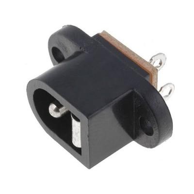 Ficha DC Macho 5.5/2.1mm p/ painel