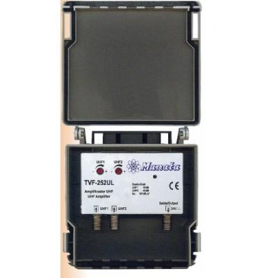 Ampificador 2x UHF 40dB C/Regulação