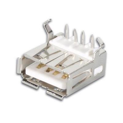 Ficha USB-A 90º Circuito Impresso