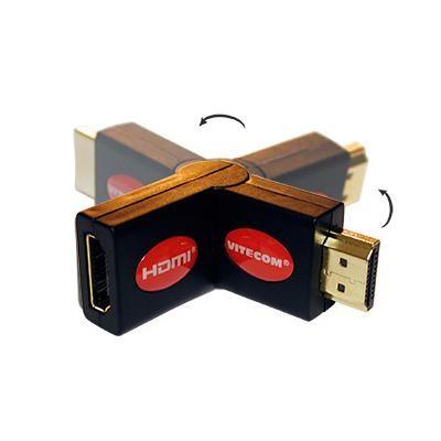 Adaptador HDMI Macho / HDMI Fêmea