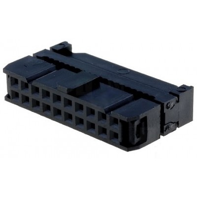 Ficha IDC 20 Pinos Fêmea p/ flat-cable