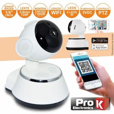Câmera Vigilância IP CMOS 720P WIFI