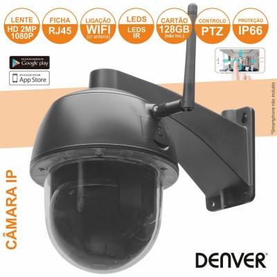 Câmera Vigilância IP 1080P WIFI LEDS IR