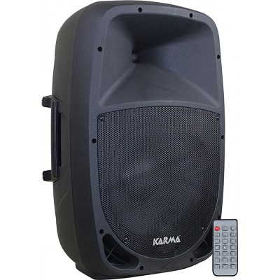 "Coluna Activa 15"" 400W USB/SD/MP3/BT/FM"
