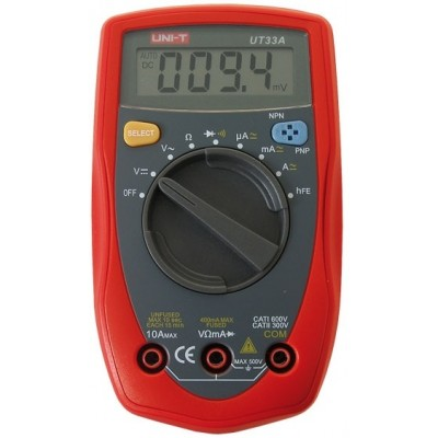 Multímetro Digital UNI-T UT33A