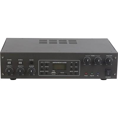 Amplificador Audio 100V 60W FM/USB/SD/MP3