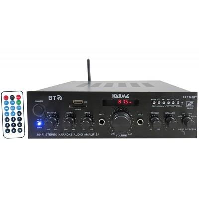 Amplificador Audio Karaoke 2x50W