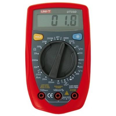 Multímetro Digital UNI-T UT33D