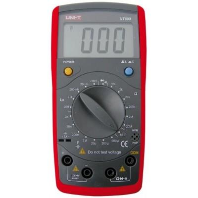 Capacímetro/Indutâncias /Ohmímetro Digital UNI-T UT603