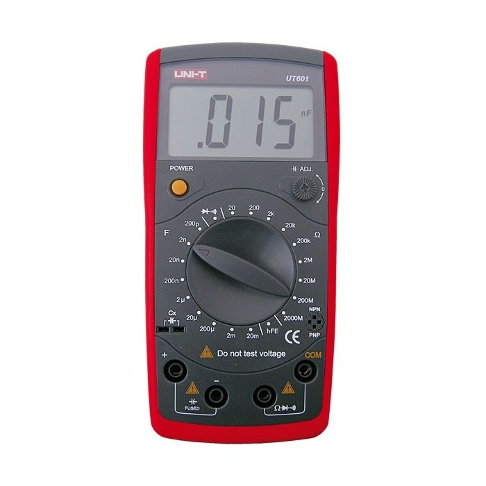 Capacimetro/Ohmimetro Digital UNI-T UT601