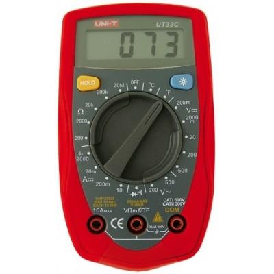 Multímetro Digital UNI-T UT33C