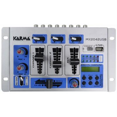 Mesa Mistura 4 Canais USB/MP3