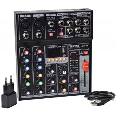 Mesa Mistura 5 Canais USB/MP3 DSP