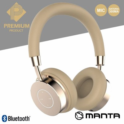 Auscultadores Bluetooth S/ Fios Premium