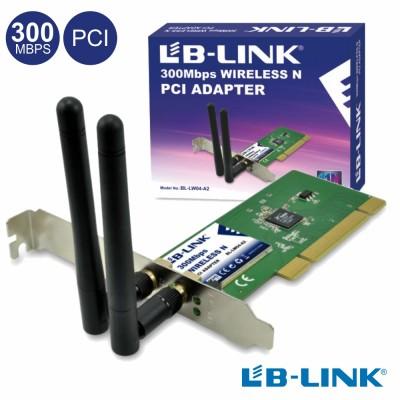Adapt. Pci Wifi 802.11b/G/N 300mbps