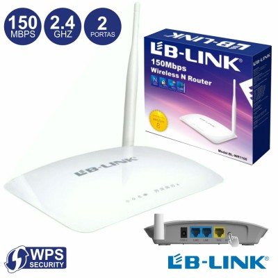 Router Wifi 150mbps Wps Lb-Link