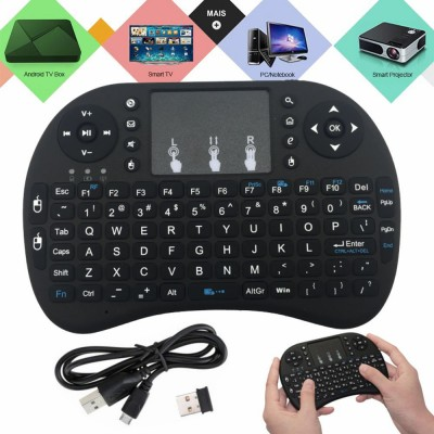 Teclado Touchpad S/ Fios USB 2.4ghz