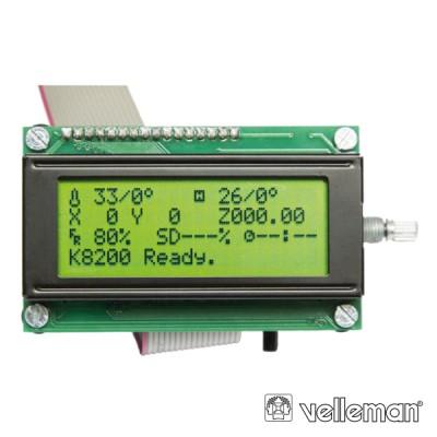 Controlador p/Impressora 3D K8200