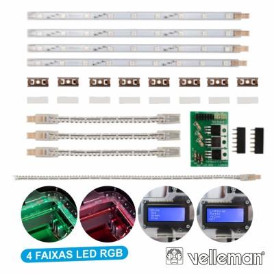 Faixas LED RGB P Imp. 3d K8400