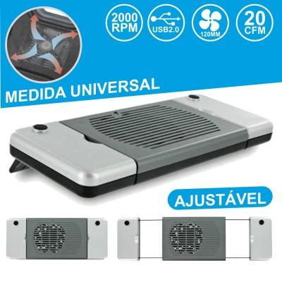 Base Refrigeração P/ Portátil Universal USB