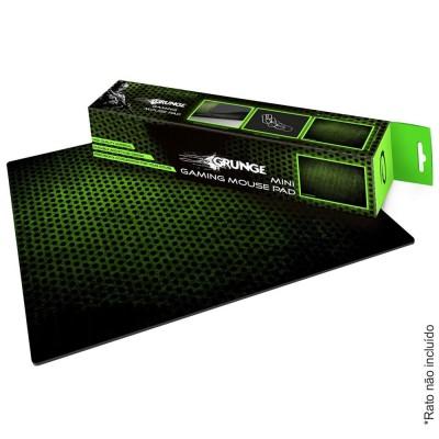 Tapete P/ Rato Gamers M 30x24 Verde E Preto