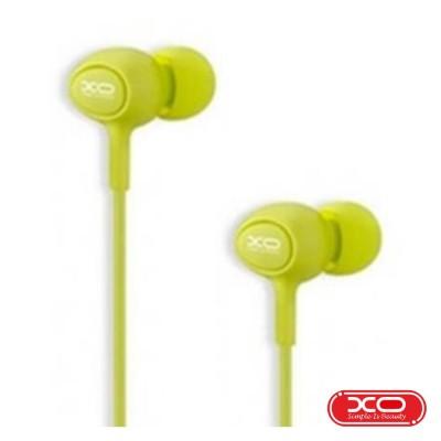 Auscultadores C/ Fios Stereo Verde XO