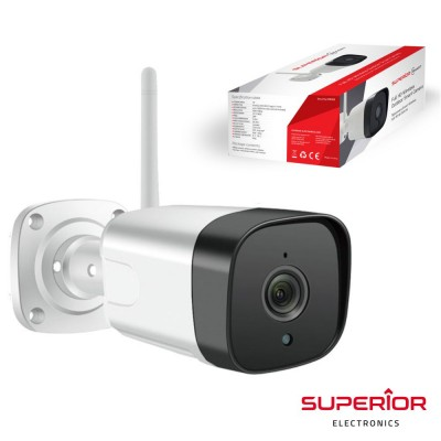 Câmara exterior WIFI IP FULL HD c/ visão noturna IP66