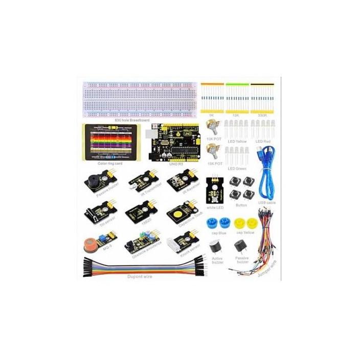 Kit c/ Sensores p/ Funduino UNO R3