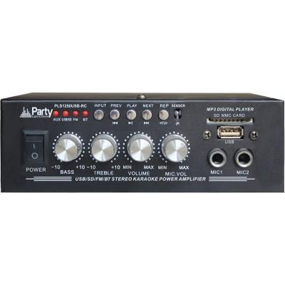 Amplificador Karaoke 2x25W USB/BT/FM